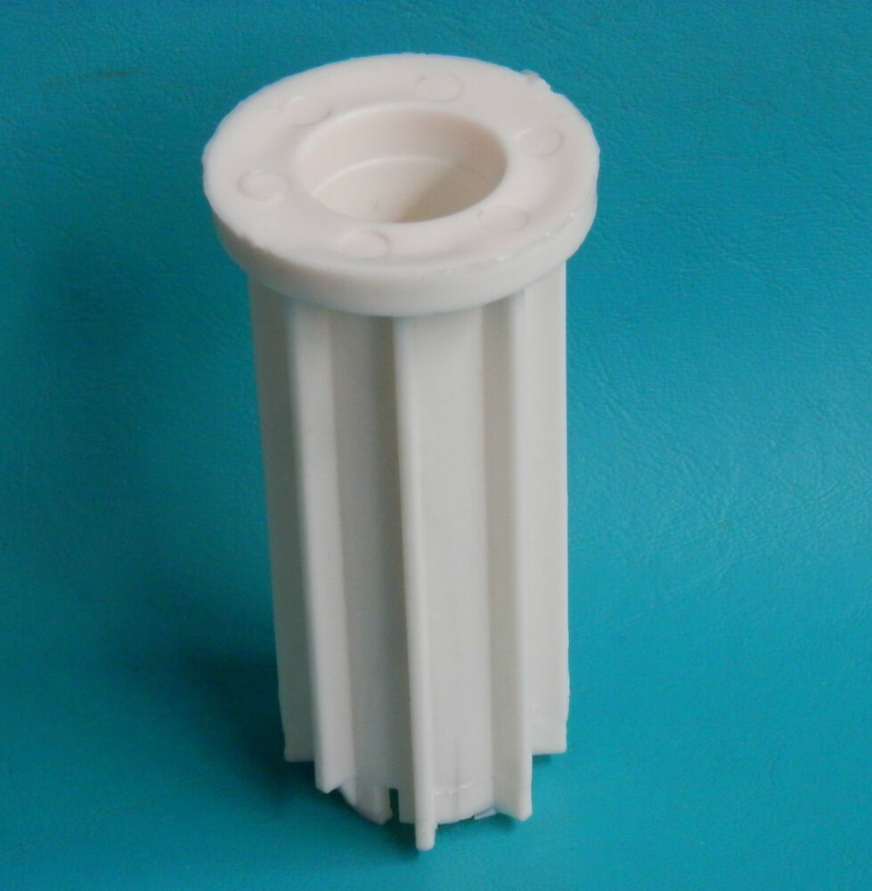 Heavy duty 1 5 8 plastic insert bushing patio chair replacement swivel base 928 ebay - Replacement chair leg tips ...