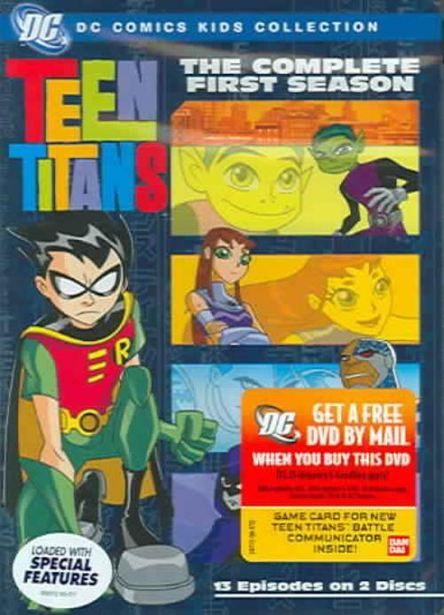 Teen Titans - The Complete First Season New Dvd  Ebay-1047