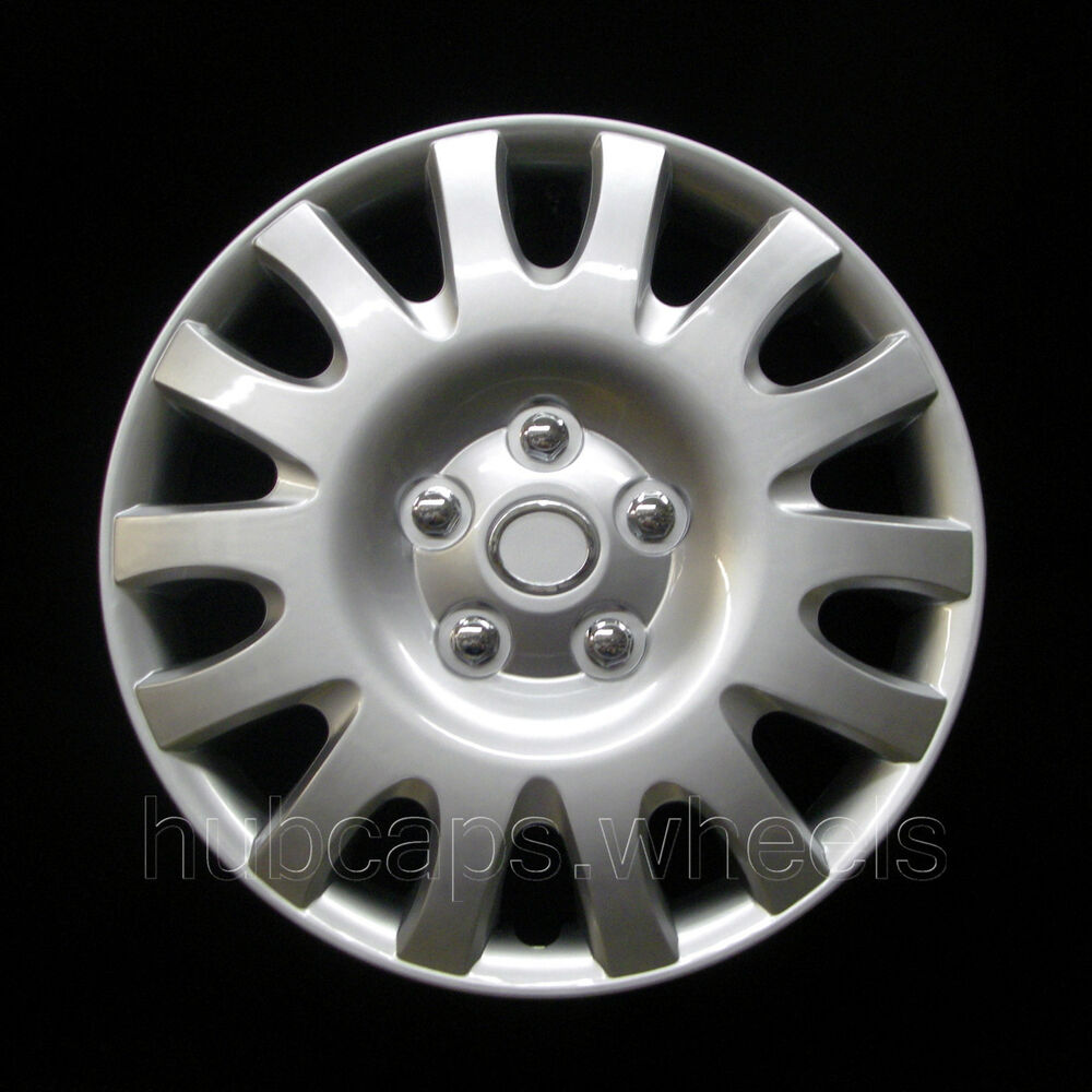 toyota camry 2002 2006 hubcap premium replacement 16 inch wheel cover silver ebay. Black Bedroom Furniture Sets. Home Design Ideas