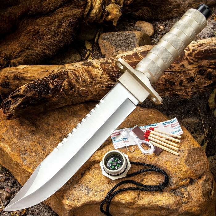 12 Quot Tactical Survival Rambo Hunting Fixed Blade Knife Army