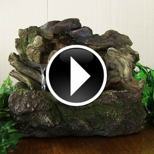 Indoor Water Feature Fountains Tabletop Desktop Waterfall