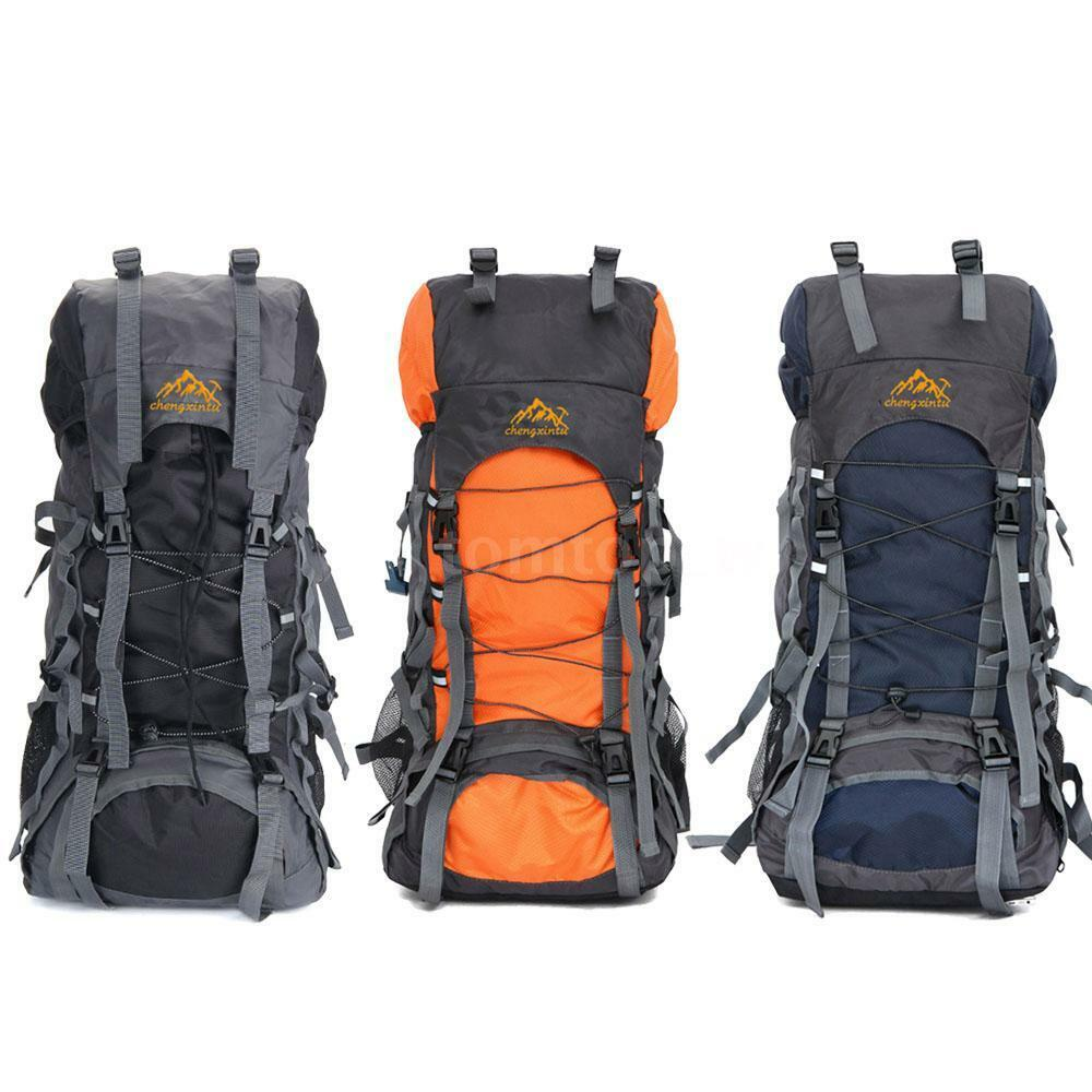 55l outdoor camping trekking hiking bag military tactical for Outdoor rucksack