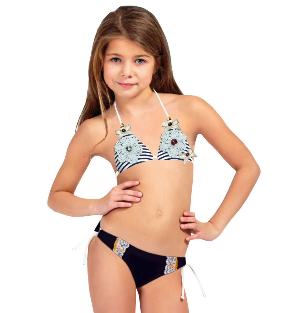 m dchen bikini set 2 teilig kinder badeanzug bademode ebay. Black Bedroom Furniture Sets. Home Design Ideas