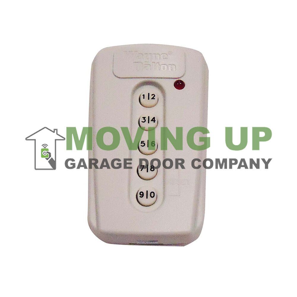 wayne dalton 327308 keyless entry 372mhz garage door opener keypad 309964 ebay
