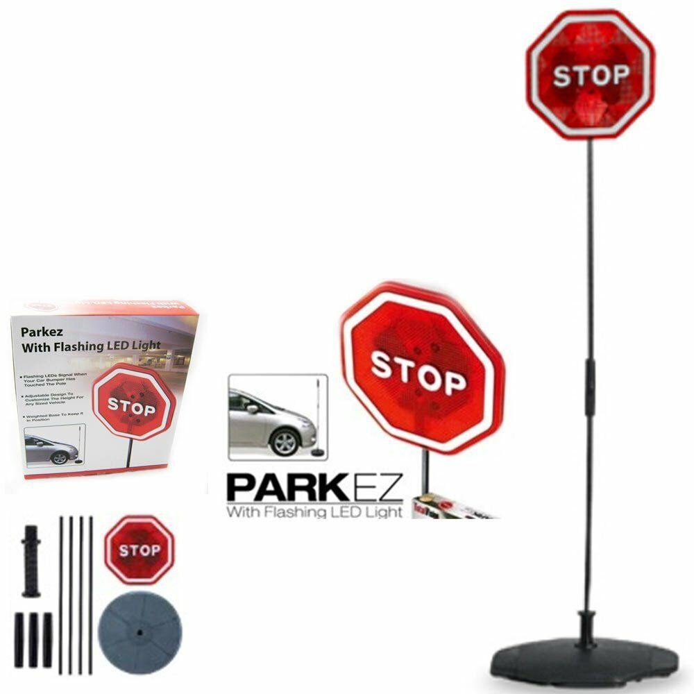 Parking Garage Sensor Lights: PARKING STOP SIGN PARKEZ FLASHING LED LIGHT CAR GARAGE