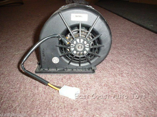 Mark iii rear air conditioning spal blower motor custom for Air conditioning blower motor