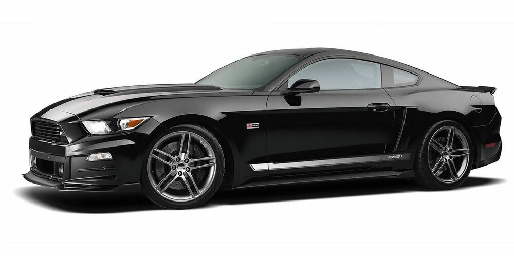 2017 Ford Mustang V6 >> 2015-2017 Ford Mustang Roush Quarter Panel Side Scoops ...