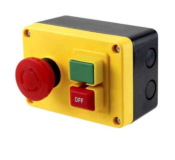 On Off Magnetic Switch With E Stop 120v 16a Rated To 1 2