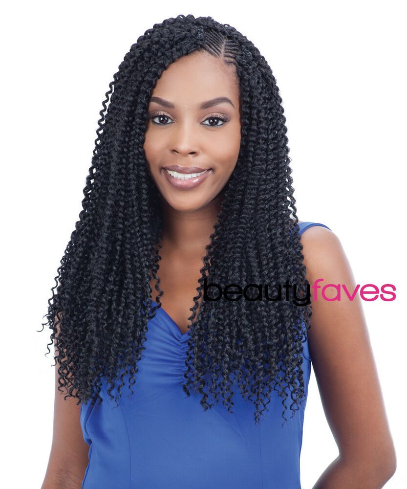 Crochet Braids Ebay : ... BOHEMIAN BRAID - FREETRESS BULK CROCHET BRAIDING HAIR EXTENSION eBay