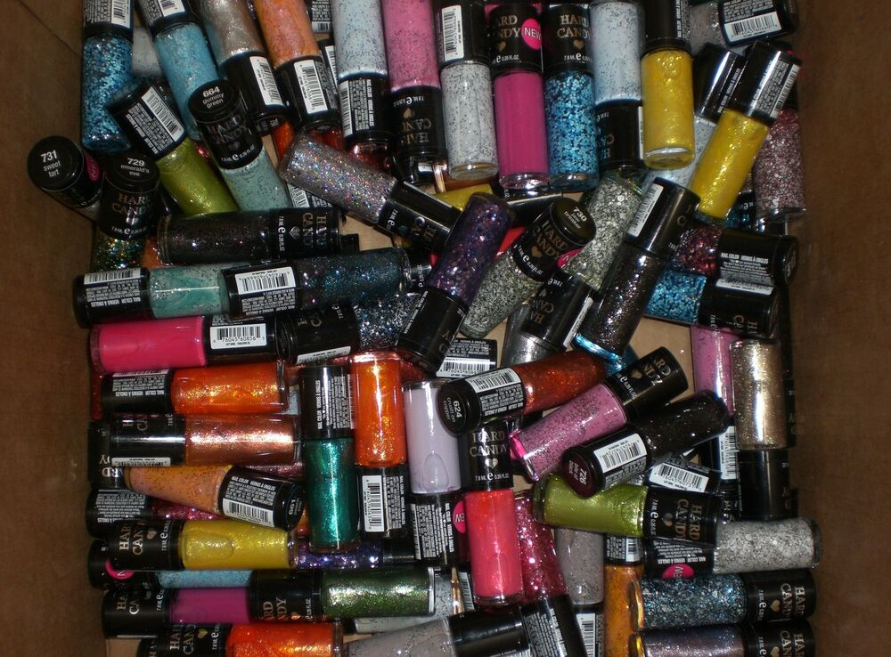Hard Candy Nail Color Polish Wholesale Lot Of 50 New Polishes Gifts Party Favors Ebay
