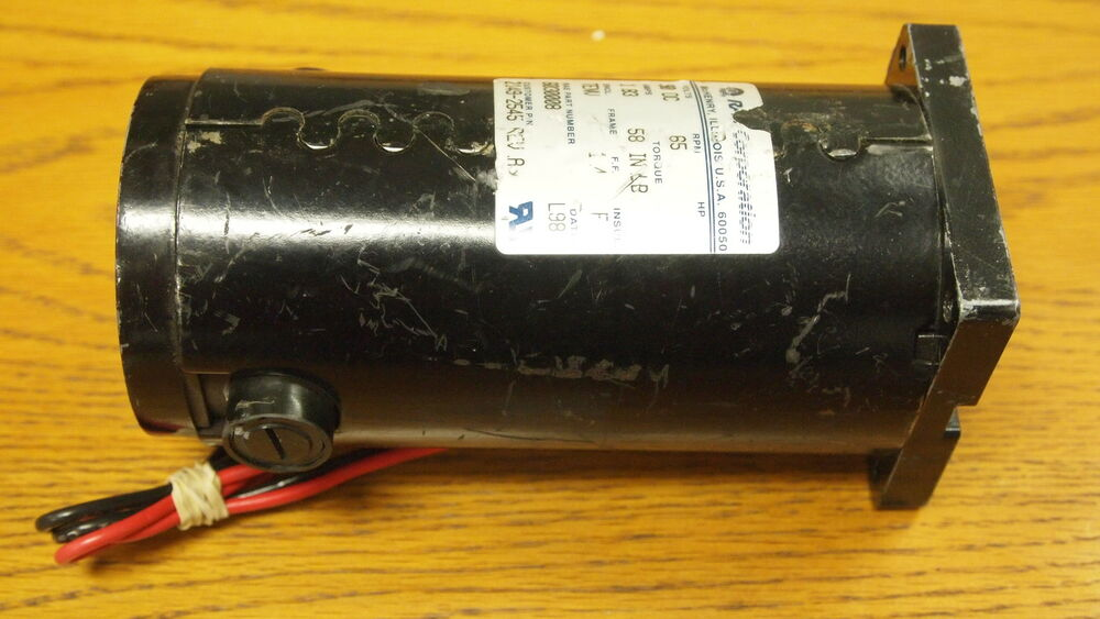 Rae dc motor electric motor 58 in lb 90 vdc 65 rpm for 90 volt dc motor