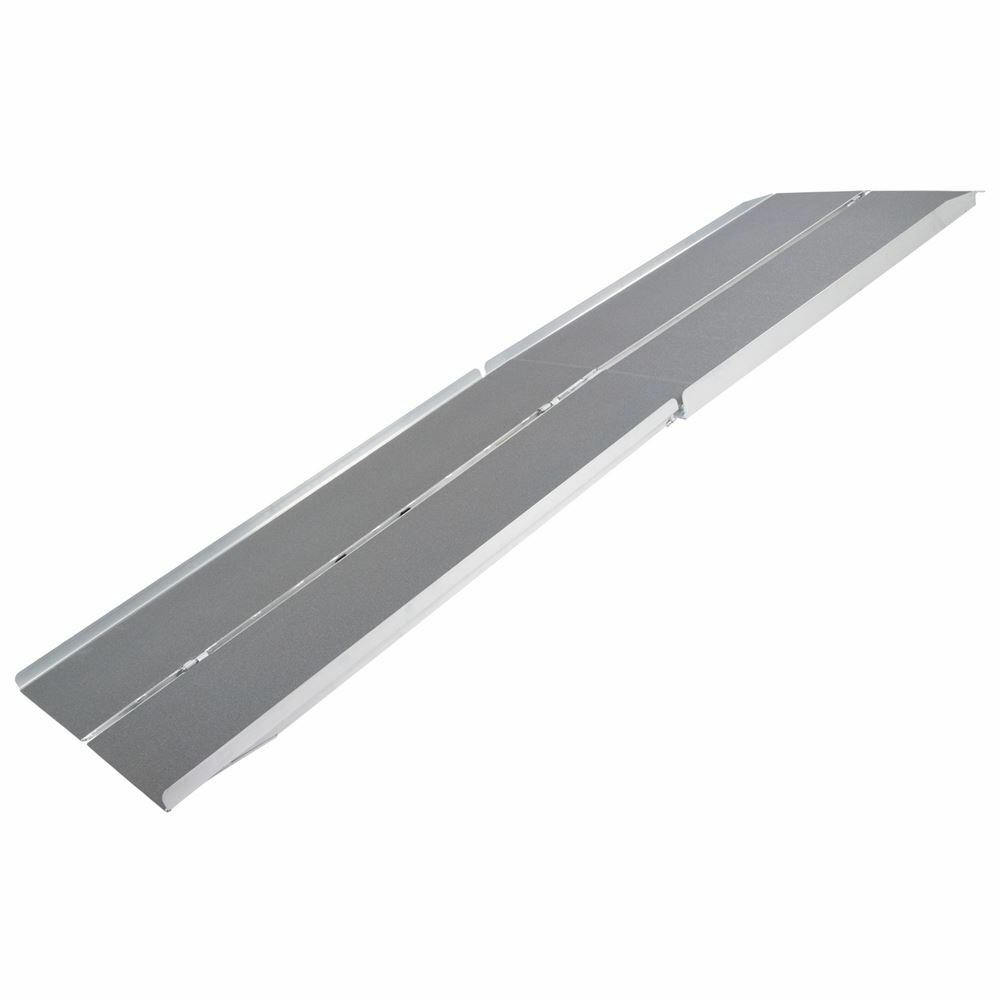 1039 aluminum folding wheelchair scooter mobility ramp for Aluminum wheel chair ramps
