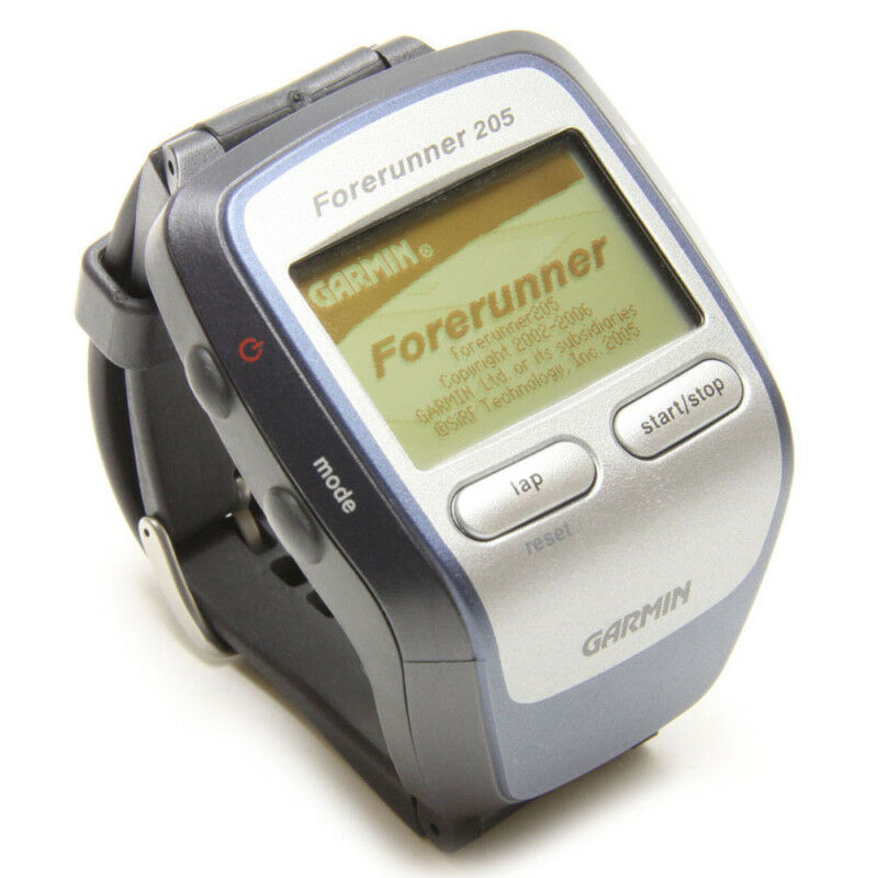 Garmin Forerunner 205 GPS Receiver and Sports Watch New ...