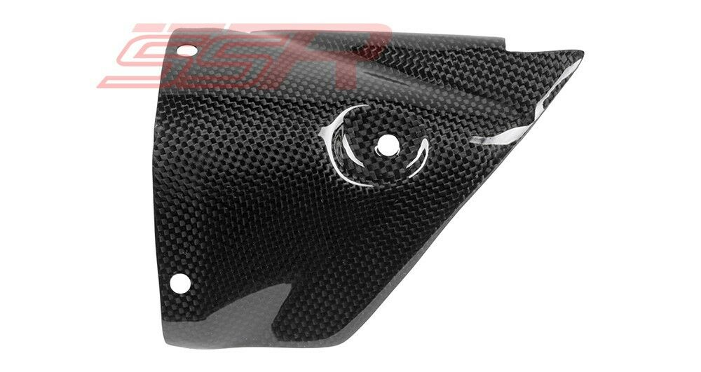 06 07 yamaha yzf r6 exhaust heat shield guard fairing for Yamaha r6 carbon fiber exhaust