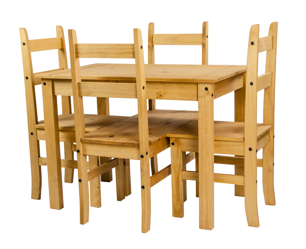 Mercers Furniture Corona Mexican Pine Budget Dining Table