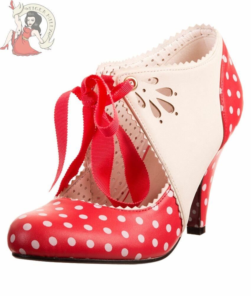 Red And White Polka Dot Shoes