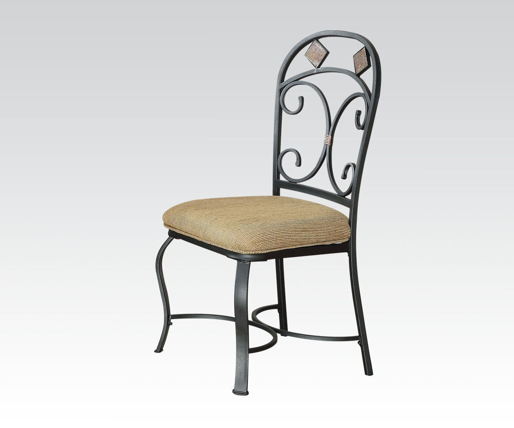 curved framed back traditional look contemporary dining chairs