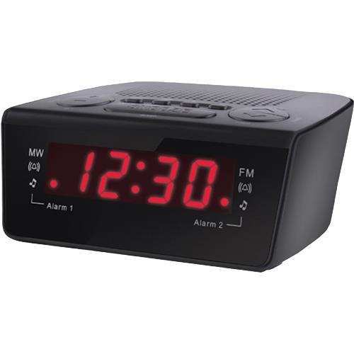 coby cbcr 102 digital alarm clock with am fm radio ebay. Black Bedroom Furniture Sets. Home Design Ideas