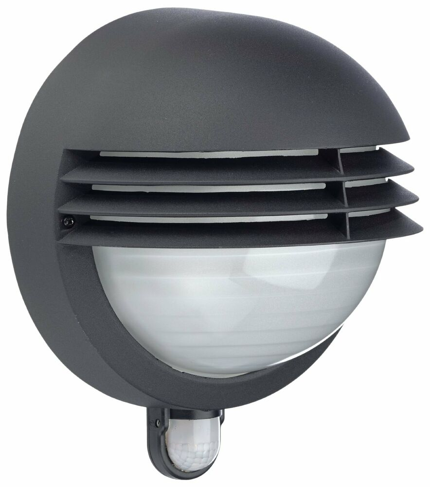 Outdoor Wall Lights Uk With Pir: MASSIVE PHILIPS BOSTON OUTDOOR WALL LIGHT BULKHEAD WITH