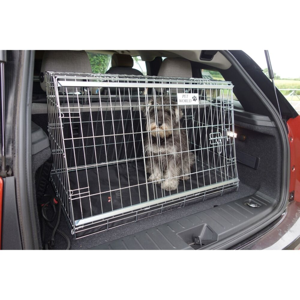 Pet World Bmw I3 Sloping Car Dog Cage Boot Travel Crate