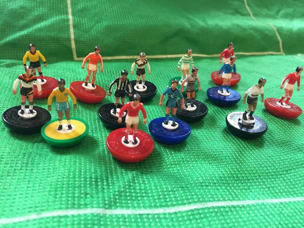 Football Cake Toppers / Decorations by Subbuteo - 5 x Players - Club ...