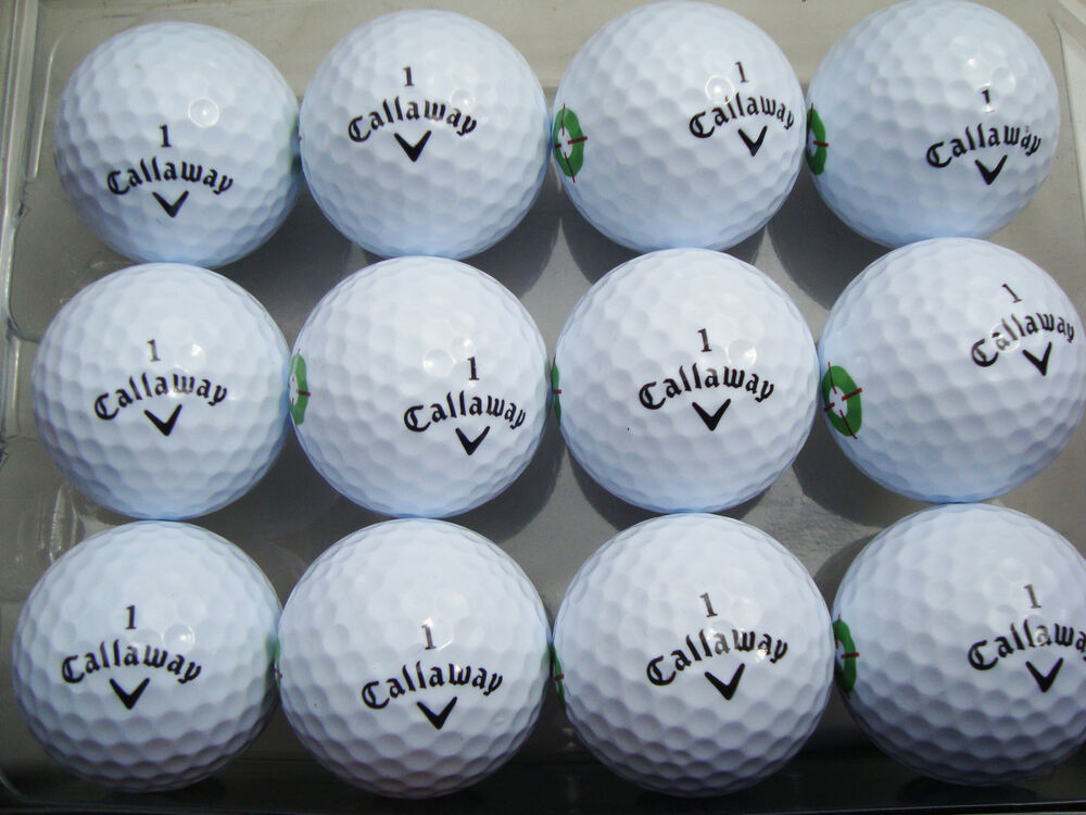 25 x callaway 2 piece golf balls to clear surplus. Black Bedroom Furniture Sets. Home Design Ideas