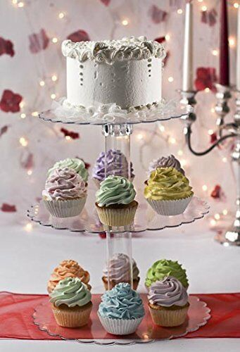 cupcakes wedding cake stands cupcake or cake stand 14 1 4 three tier for and 13151