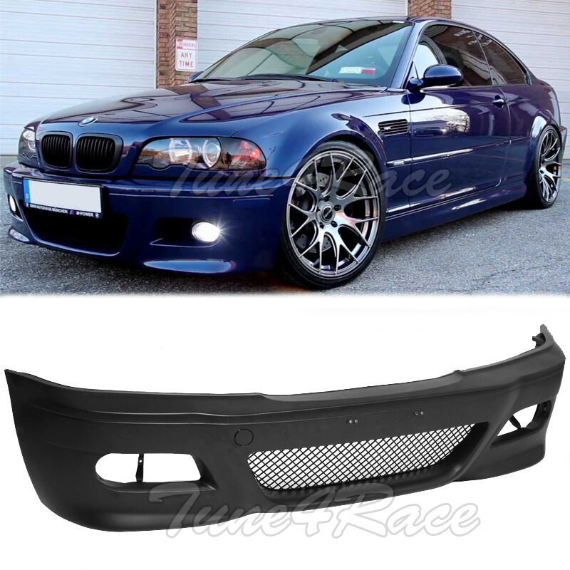 For 99-05 BMW E46 3-Series 4Dr M3 Style Front Bumper Cover