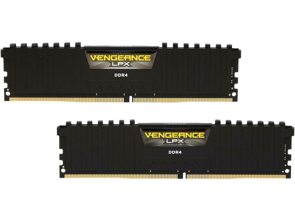 corsair vengeance lpx 16gb 2 x 8gb 288 pin ddr4 sdram ddr4 2666 pc4 21300 de ebay. Black Bedroom Furniture Sets. Home Design Ideas