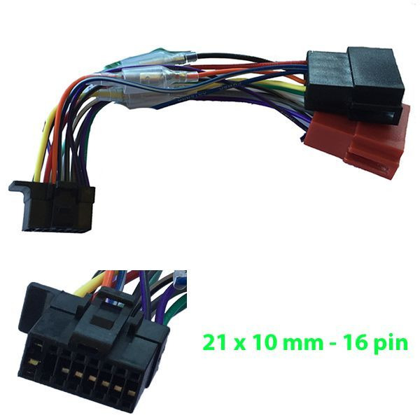 Sony Iso Wiring Harness Wx