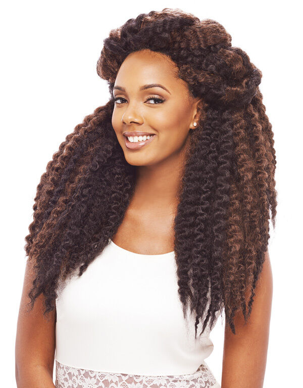 Braid crochet hair cuban havana twist long 100 kanekalon for Salon locks twists tresses