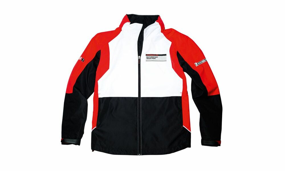 porsche motorsport men 39 s windbreaker jacket w hood white