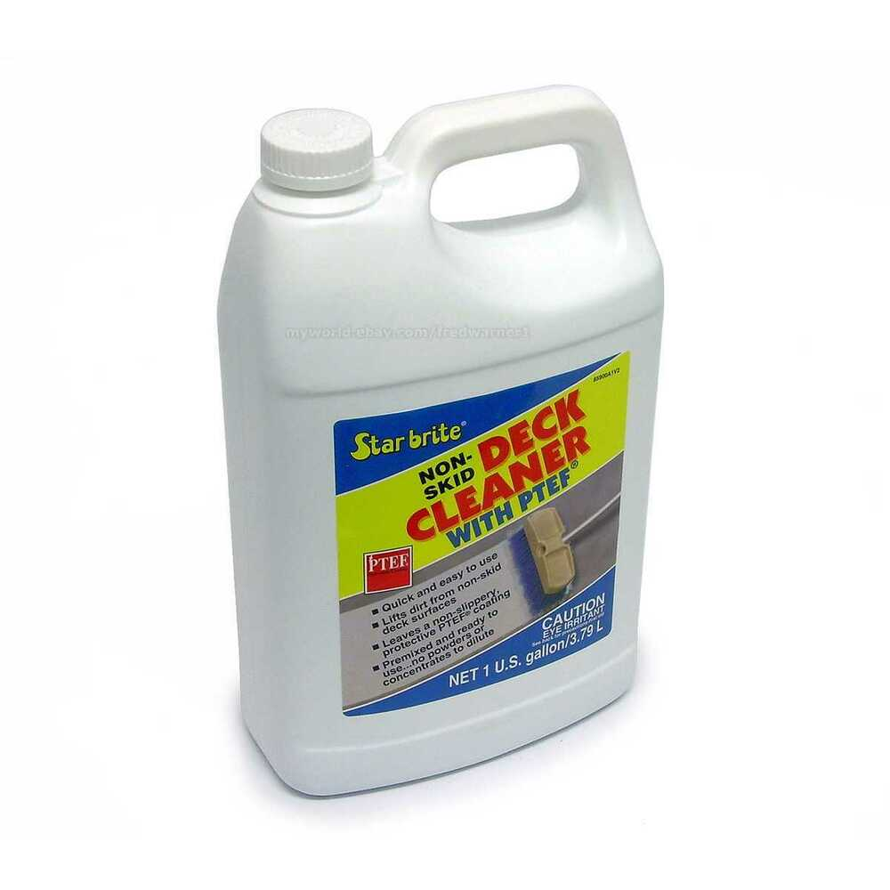 Star Brite Non Skid Boat Deck Cleaner With Ptef 1 Gallon