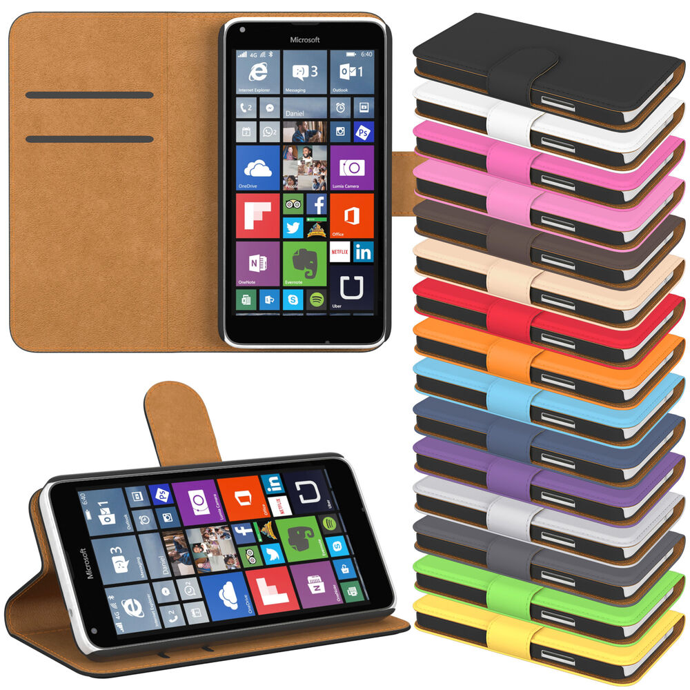 handy tasche f r nokia flip case cover schutz h lle etui schale bumper wallet ebay. Black Bedroom Furniture Sets. Home Design Ideas