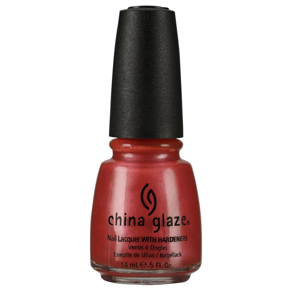 China Glaze Coral Star Nail Lacquer 0.5oz