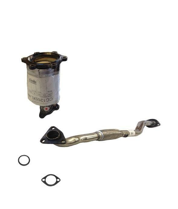 Catalytic Converter With Engine Flex Pipe  U0026 Gaskets For