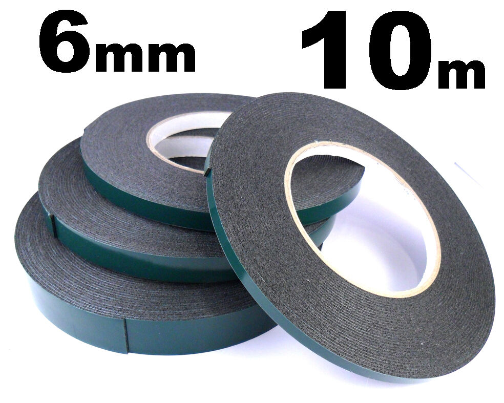 Indasa 6mm Double Sided Car Trim Moulding Amp Badge Tape