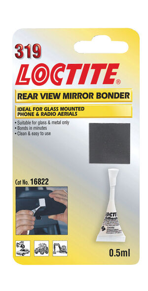 loctite 319 0 5ml glas metall klebstoff r ckspiegel klebe set ebay. Black Bedroom Furniture Sets. Home Design Ideas