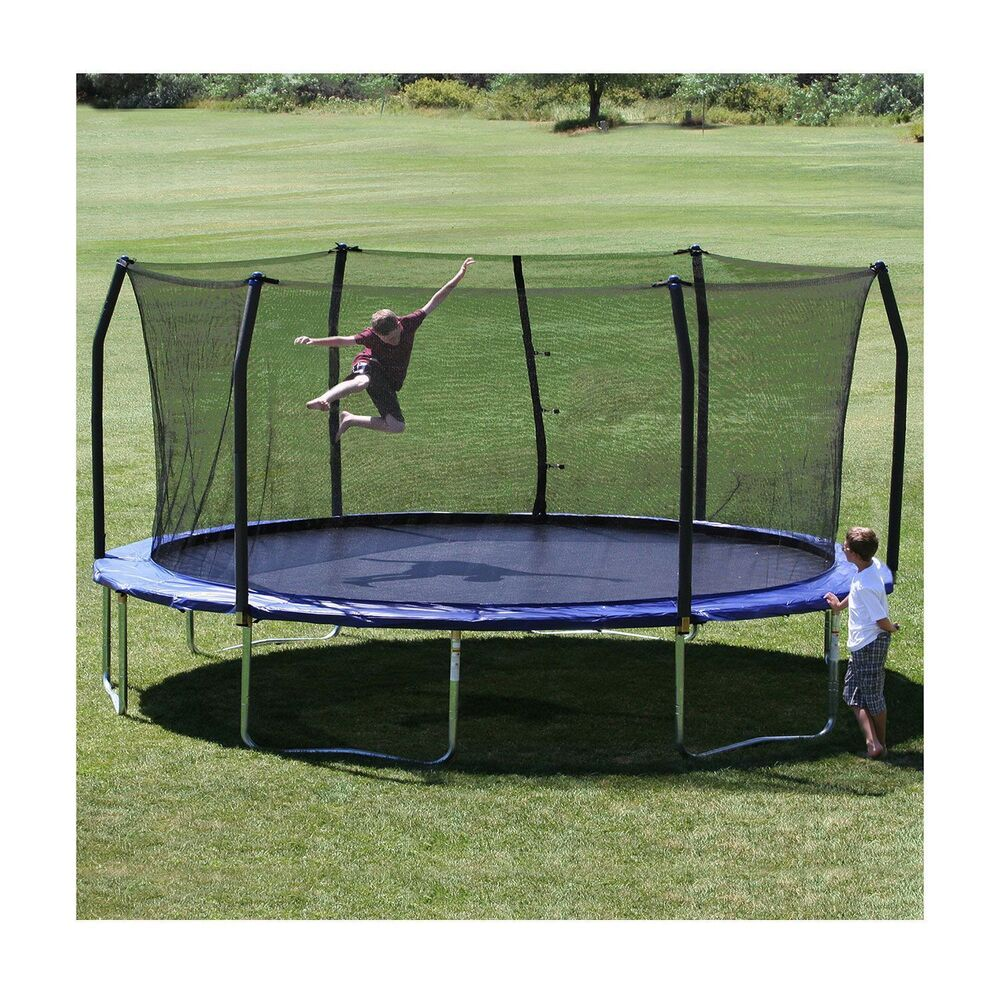 Skywalker Trampoline 17 x 15 Oval Trampoline & Enclosure Combo FREE SHIPPING NEW | eBay