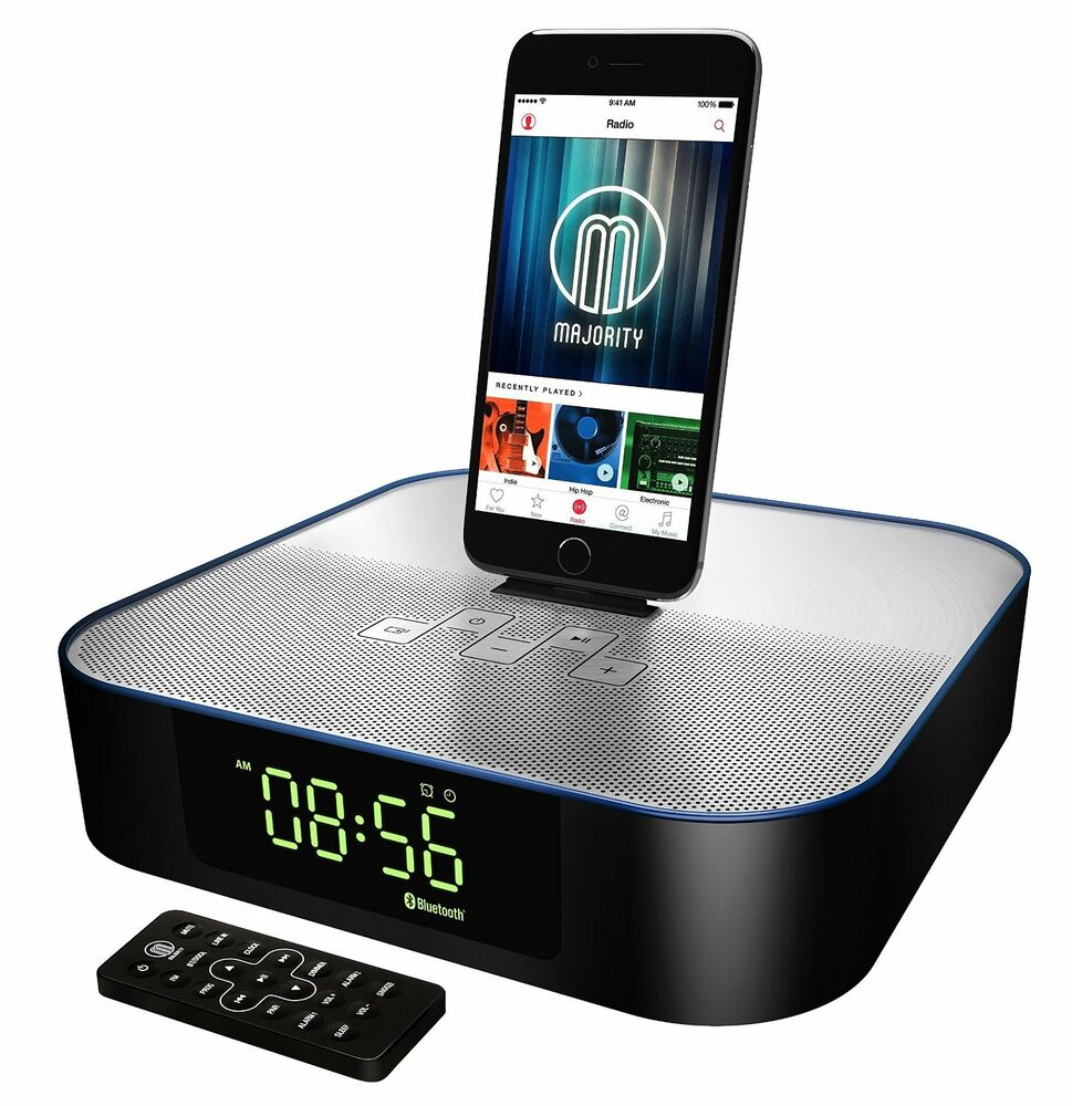 majority titan docking station speaker dock for ipod iphone 5 5s 5c 6 6 ipad ebay. Black Bedroom Furniture Sets. Home Design Ideas