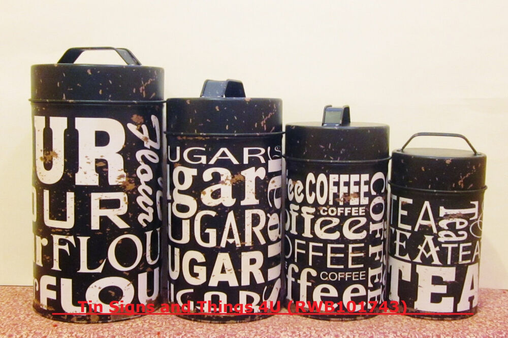 Food Safe Kitchen Canisters