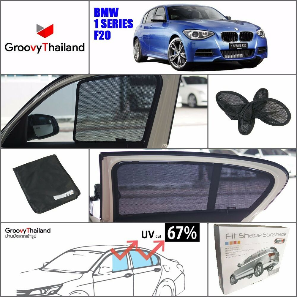 4 PCS SET BMW 1 SERIES F20 CUSTOM FIT FOLDABLE MESH