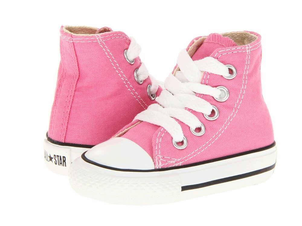 Girl s Infant Toddler Converse 7J234 Chuck Pink Taylor