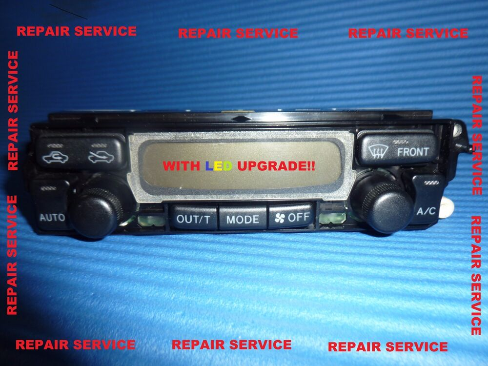 Toyota 4runner 4 Runner Limited Climate Control Heat Ac