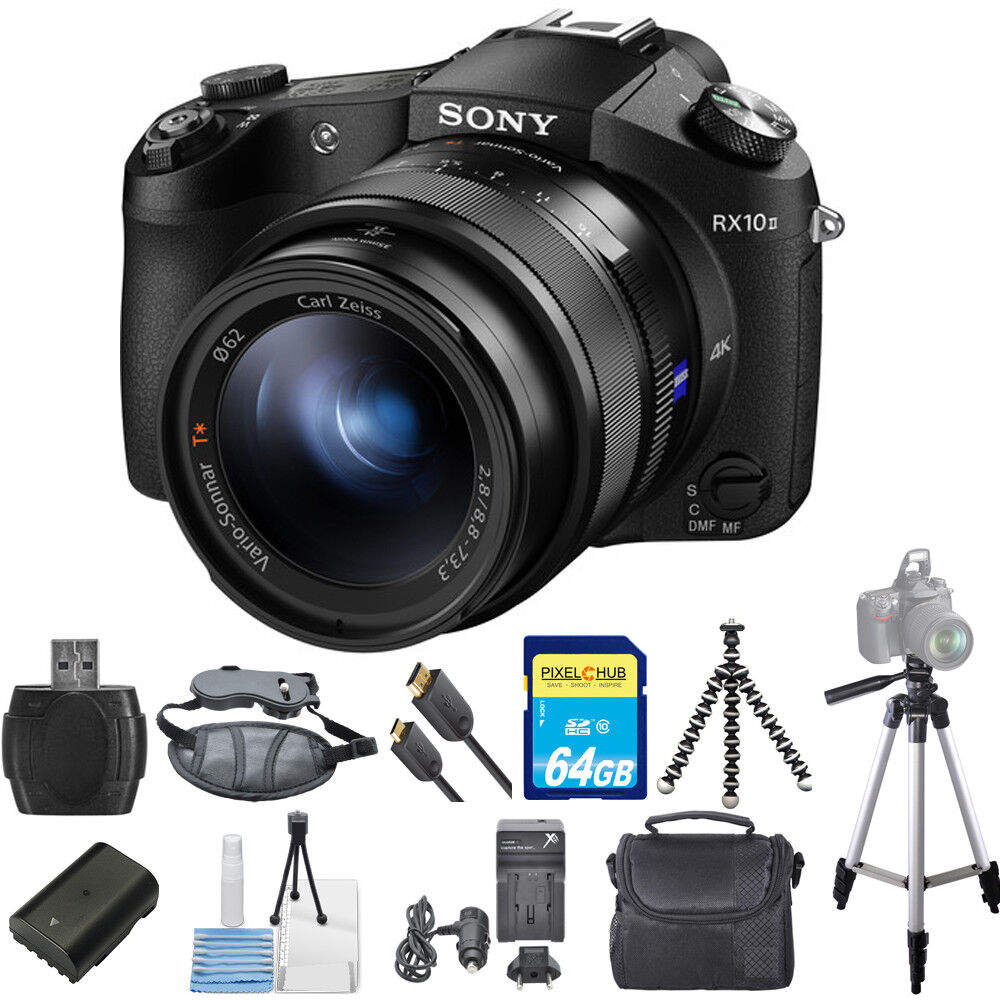 sony cyber shot dsc rx10 ii digital camera pro bundle dsc rx10m2 brand new 27242893399 ebay. Black Bedroom Furniture Sets. Home Design Ideas