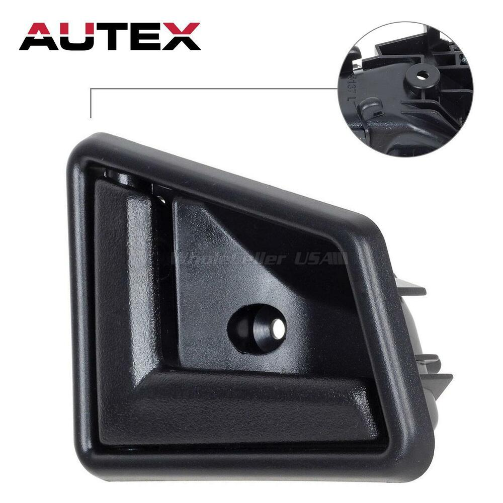 for 1996 1997 geo tracker black interior inside left driver side door handle ebay