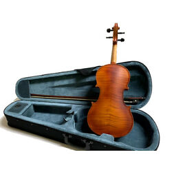 Kyпить 4/4 VIOLINS-BANKRUPTCY-NEW ADULT FULL SIZE FLAMED SOLID VIOLIN/FIDDLE-GERMAN на еВаy.соm