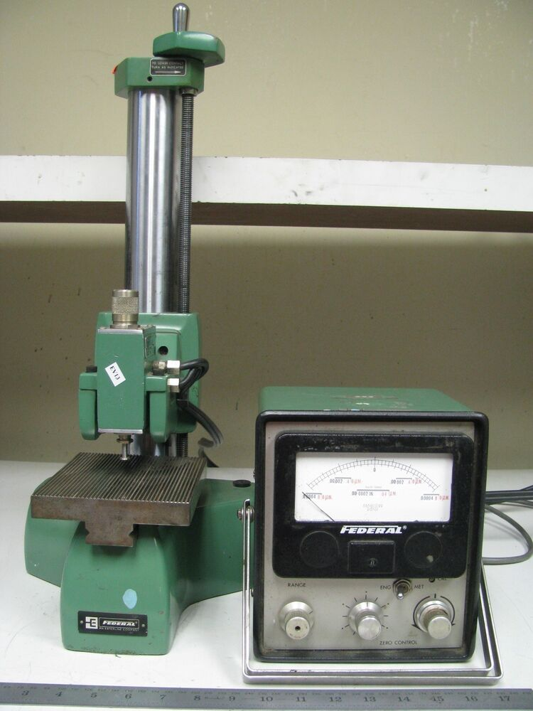 Electronic Federal Gage Products : Federal electronic high precision comparator gage