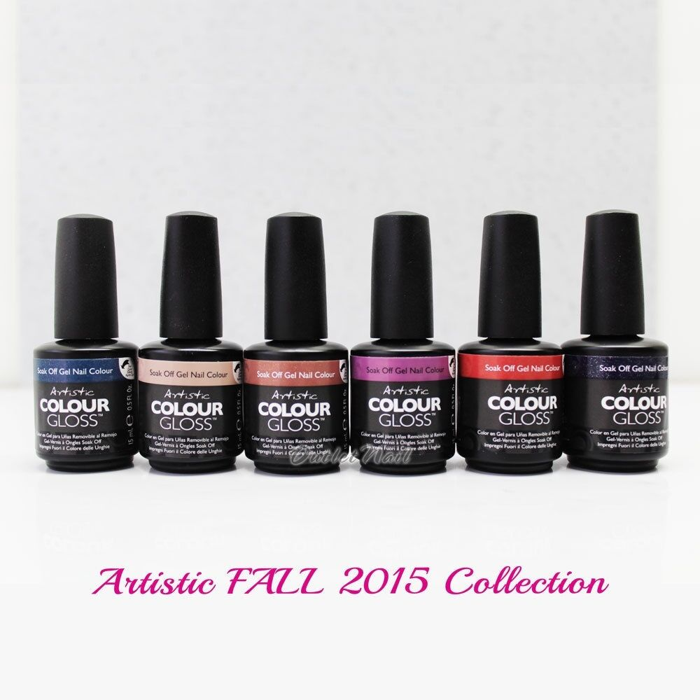 Artistic Nail Design Colour Gloss ACG FALL 2015 >> Fall Moon Rising ...