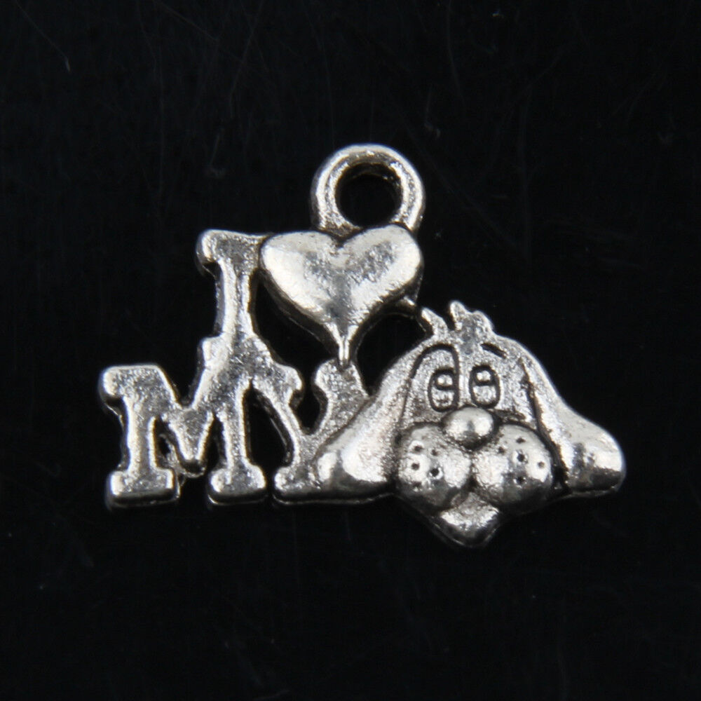 Dog Charms For Jewelry Making